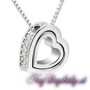 privesok krystalove srdce