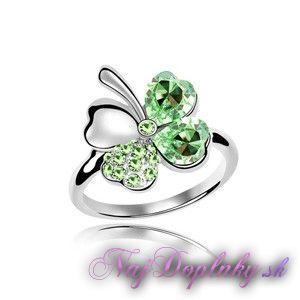 prsten stvorlistok zeleny