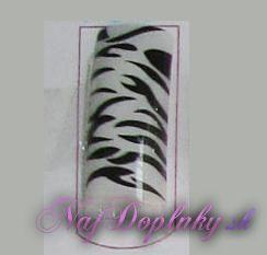 zebra biela